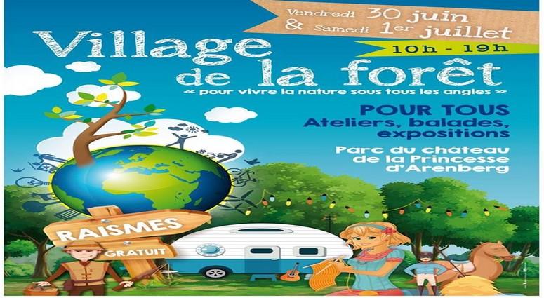 Raismes/Le Village de la forêt pour vivre la nature sous tous les angles.
