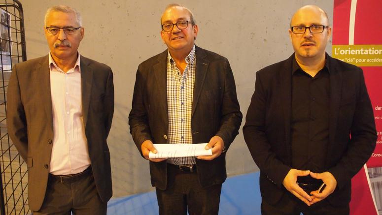 Charaf Rifai, Fabien Thiémé, et Khaled Sidi-Moussa