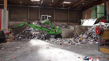 Première opération sur les ordures ménagères et encombrants