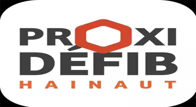 Proxidefib Hainaut, l'application qui localise les défibrillateurs dans le Hainaut.