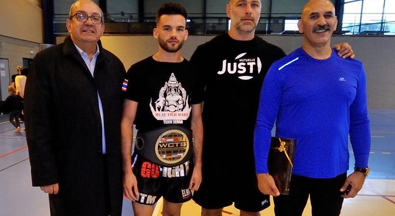 Un stage de boxe avec un champion intercontinental