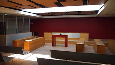 Nouvelle salle d'audience du TGI de Valenciennes