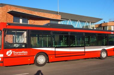 Réseau Transvilles de Bus vers la Belgique