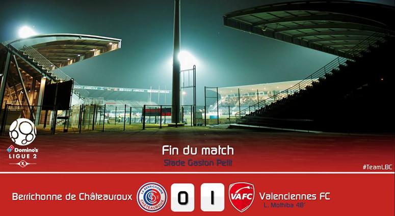 Victoire du VAFC à Châteauroux (0-1)