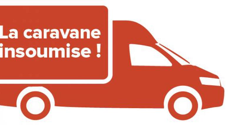 La Caravane de la France Insoumise reprend du service cet été