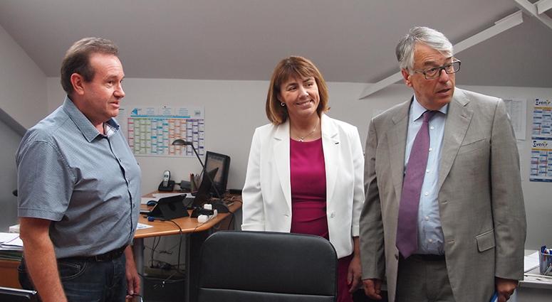 Accord département/commune pour la Ruche d'entreprises de Denain