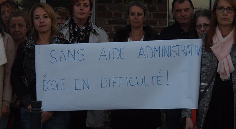 Les directeurs d'école imposent un blocage administratif !