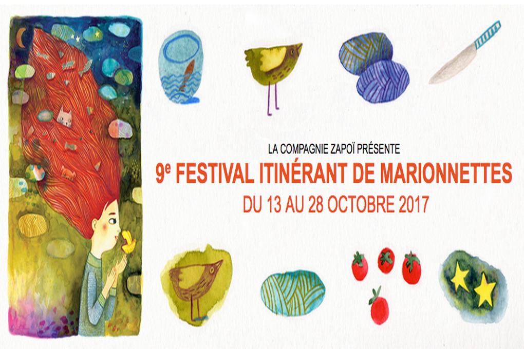 Festival Itinérant de Marionnettes 9ème édition, clap d'ouverture  le 13 octobre.