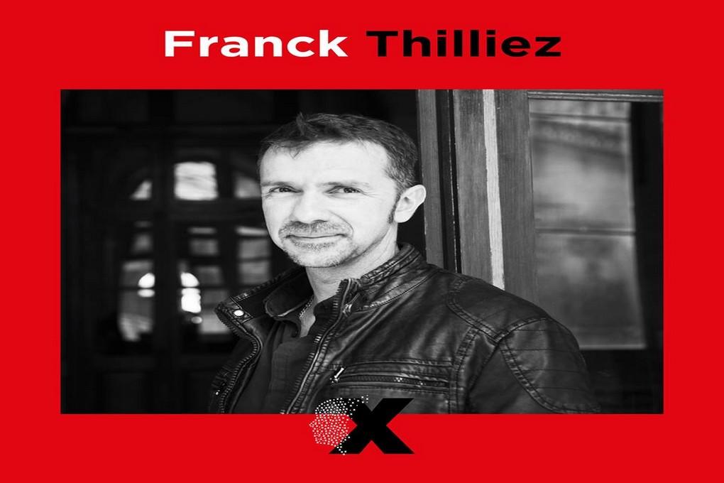 TEDx J-10/ 1er speaker dévoilé: Franck Thilliez/Interview. Ça commence fort !