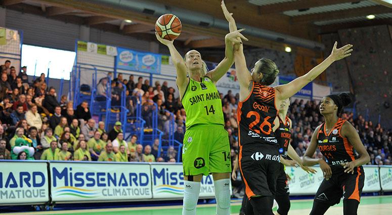 (Basket) Les Hennuyères surclassées par Bourges