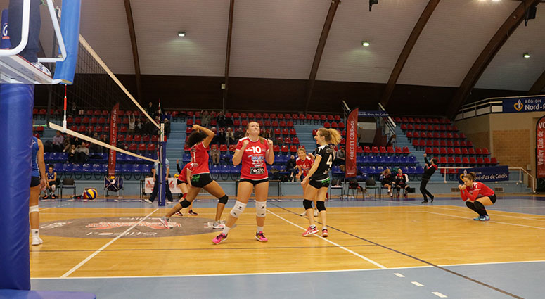 (Volley Club de Valenciennes) Elles reprennent une coupe