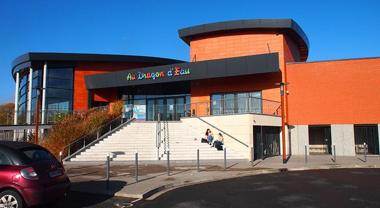 Dumbéa (Nouvelle Calédonie) s'inspire de la SPL au Centre Aquatique de l'Amandinois.