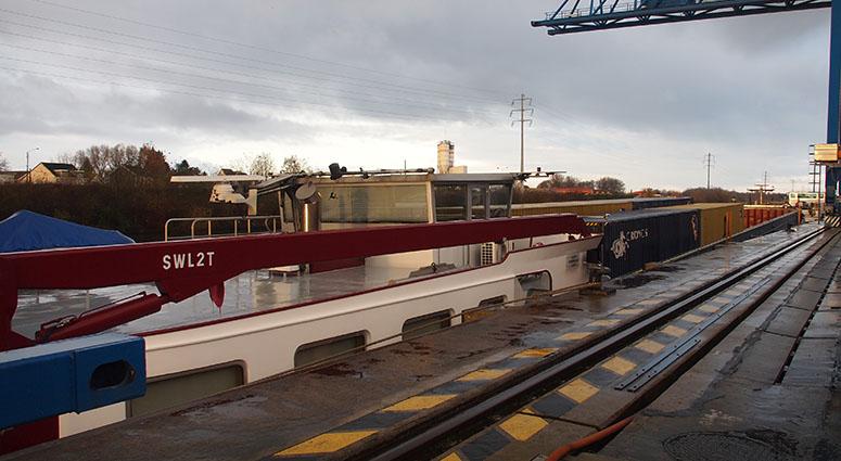 Le port de St-Saulve-Bruay-sur-l'Escaut, un interlander en pleine croissance !
