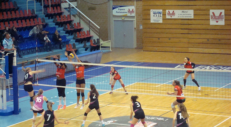 (Volley Club de Valenciennes) Elles font trembler le leader