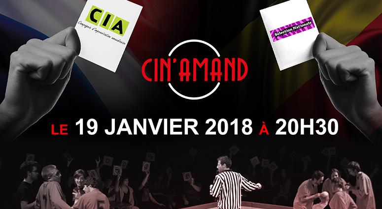 Impro théâtrale à Saint-Amand-les-Eaux