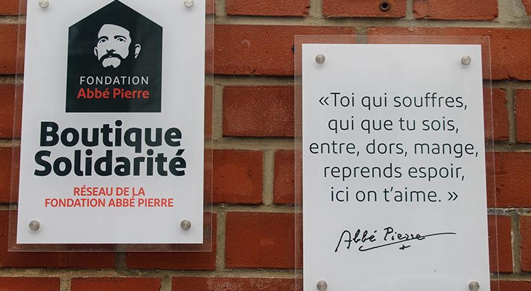 La Fondation Abbé Pierre en urgence sociale !
