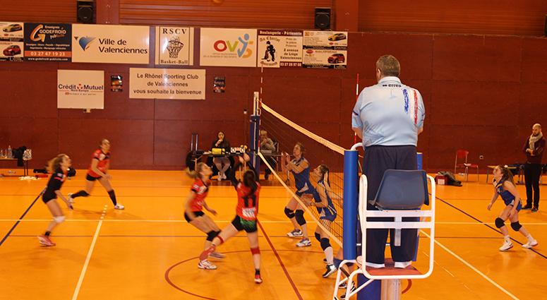 (Volley Club de Valenciennes) Sans pitié pour les Lyssoises