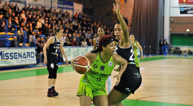 (Basket) Les Hennuyères domptées par les Lyonnaises