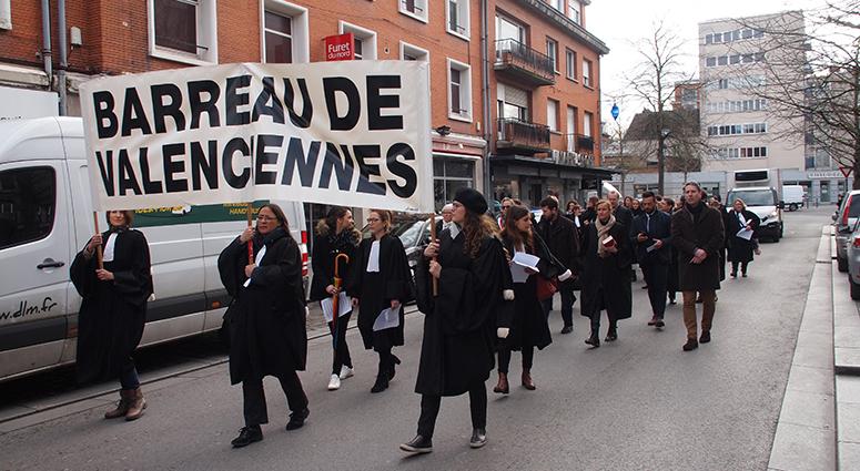 La justice de proximité à son cercueil au Barreau de Valenciennes