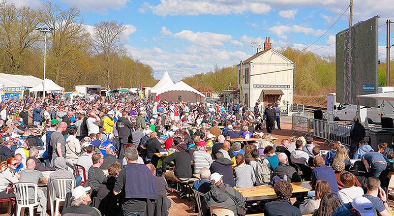 116ème édition du Paris-Roubaix – Fête du Vélo à Wallers-Arenberg
