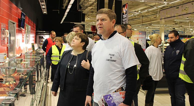 L'artisanat défend son identité face à Auchan