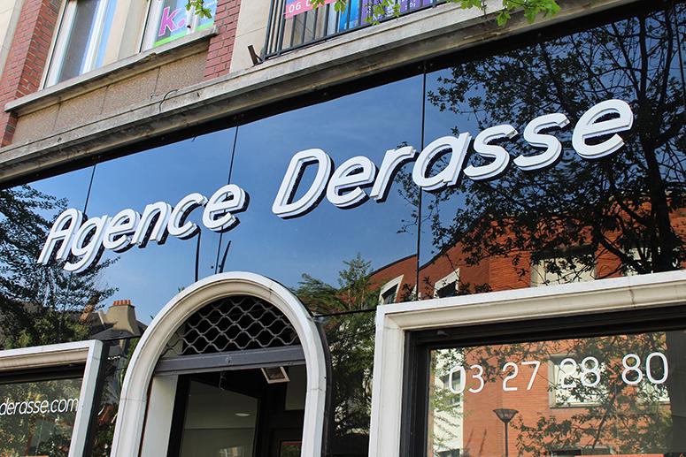 L'agence immobilière Derasse ne s'est pas arrêtée une minute… !