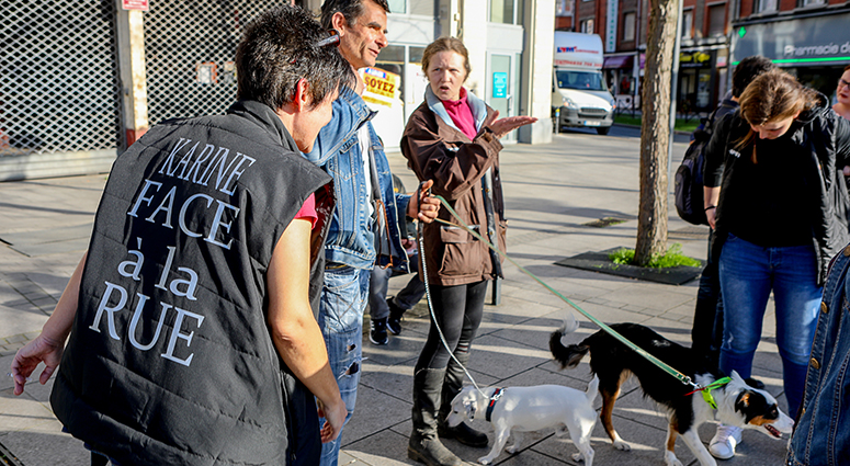 Une première à Valenciennes: une maraude pour les animaux