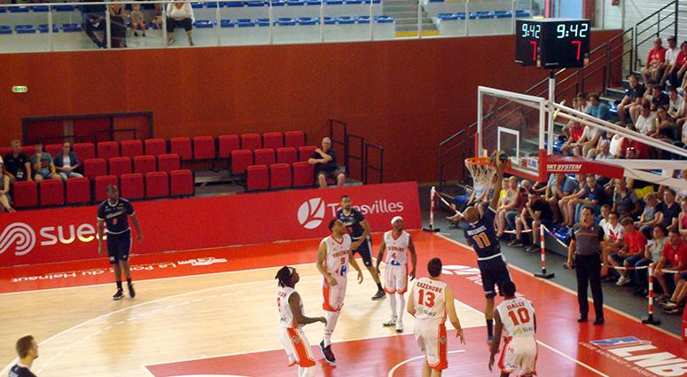 (Basket) Denain éliminé en quart de finale des play-off par Roanne