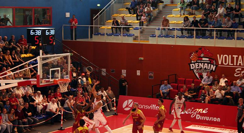 (Basket) Denain renoue avec la victoire face à Vichy