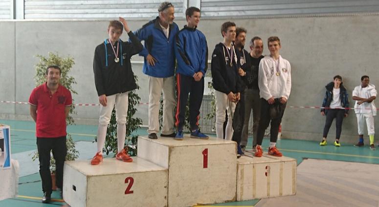 (CEV) Championnats de France d'épée -17 ans
