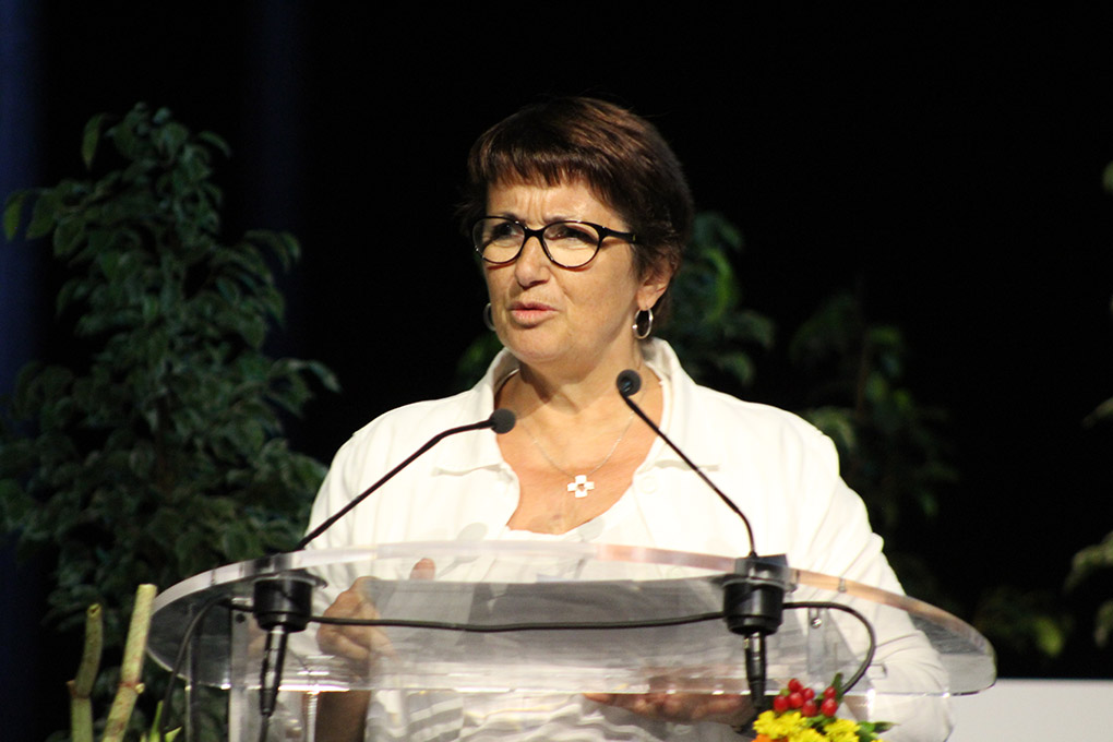 (FNSEA) Christiane Lambert «une agriculture innovante, intelligente, et productive»
