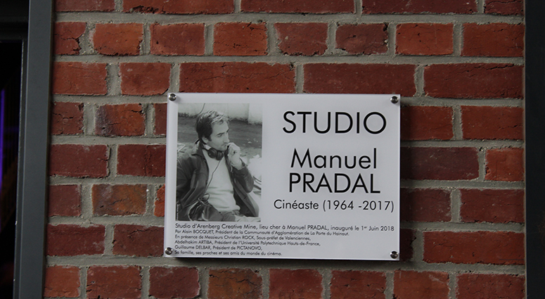 Manuel Pradal (1964-2017) habite Arenberg Creative Mine depuis le 01 juin 2018