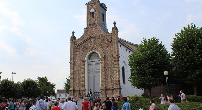 Quand la mine rencontre le consacré, église Saint-Barbe à la Sentinelle