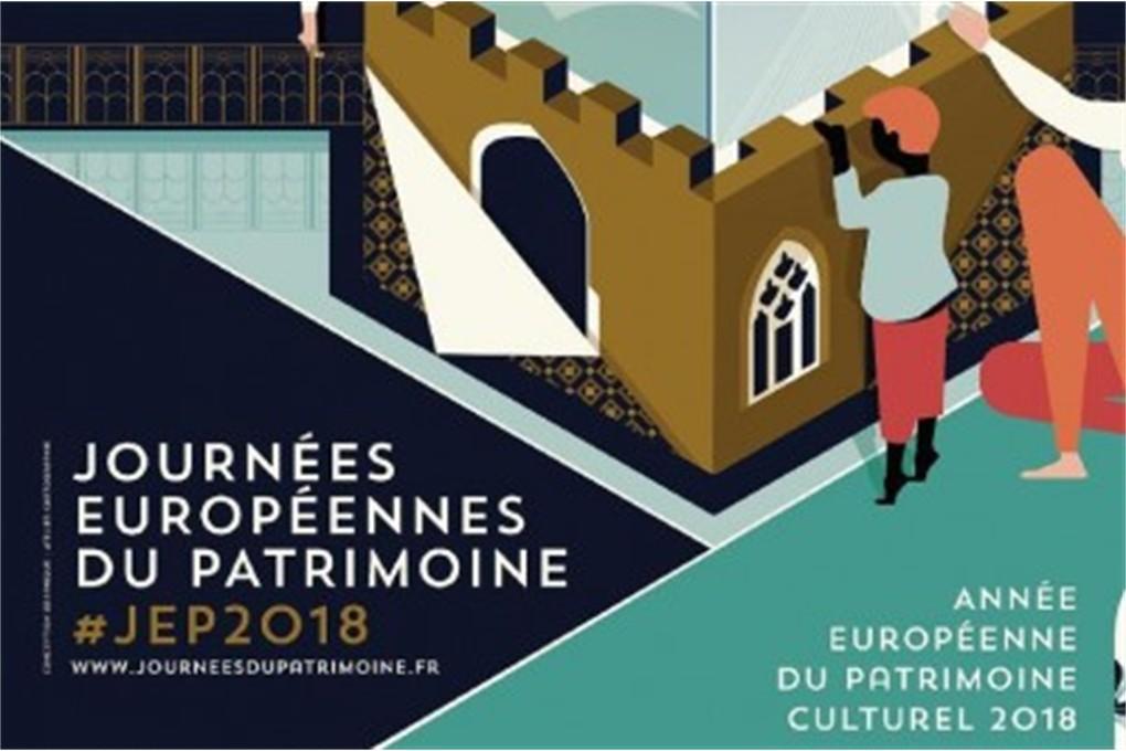 Journées du Patrimoine 2018. Demandez le programme!
