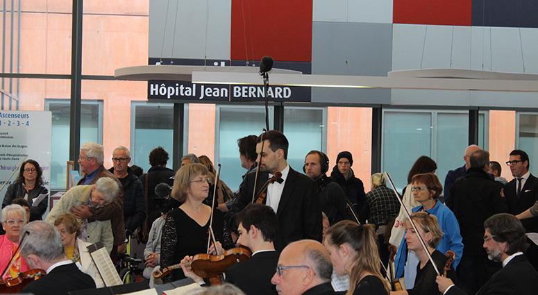 La musique s'invite à l'Hôpital public