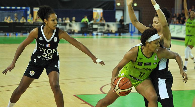 (Basket) Sans adresse, les Hennuyères ont perdu face à Lyon (54-63)