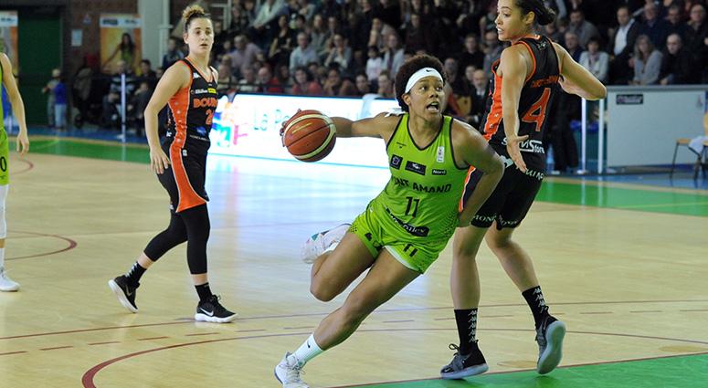 (Basket) Les Hennuyères ont tenu puis cédé face à Bourges (50-70)