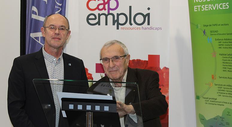 Le CAP emploi du Grand Hainaut et la commune d'Anzin formés au S3A