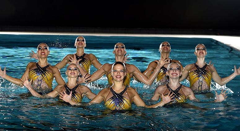 Un gala de natation artistique inédit à Saint-Amand-les-Eaux