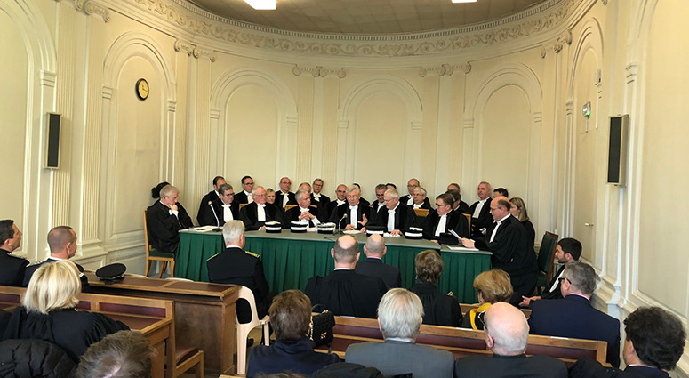 Serge Moreau quitte à regret la présidence du Tribunal de Commerce