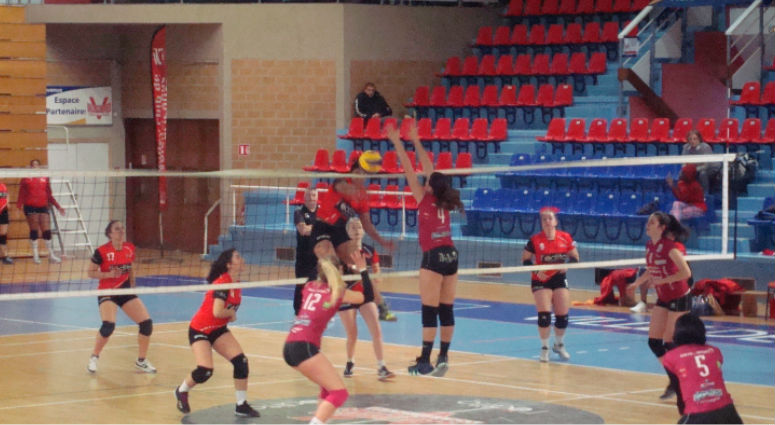 (Volley Club de Valenciennes) Défaite au tie-break face à Vandoeuvre
