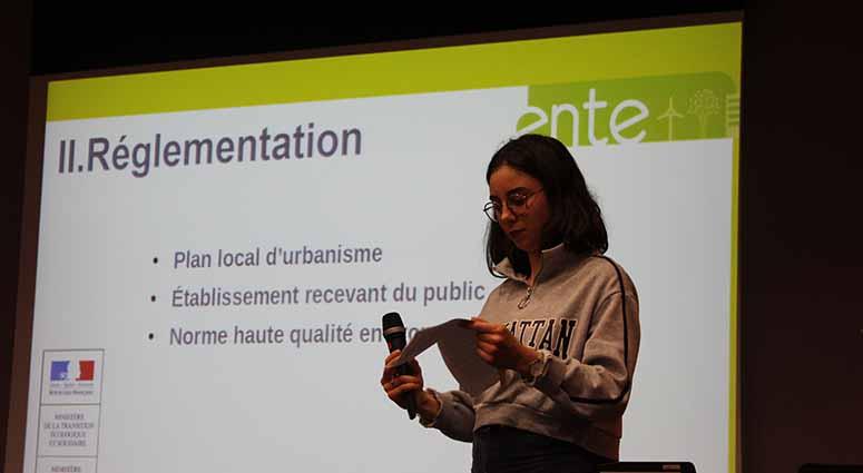 Projet «Vert» au CHV par les étudiants de l'ENTE