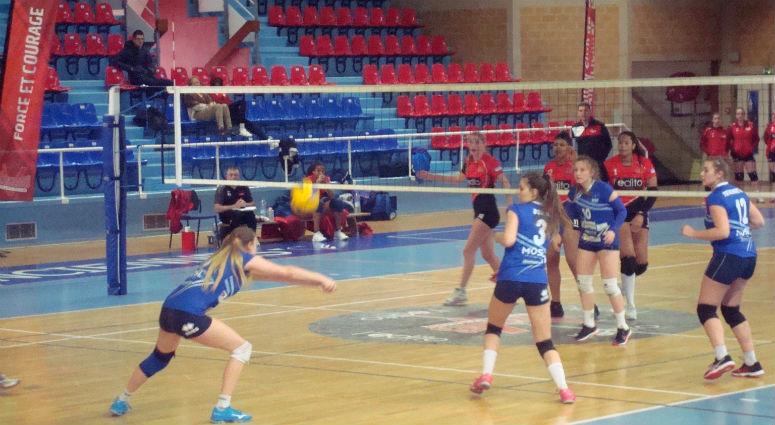 (Volley) La victoire des Valenciennoises face à Terville (3-0) les maintient en vie