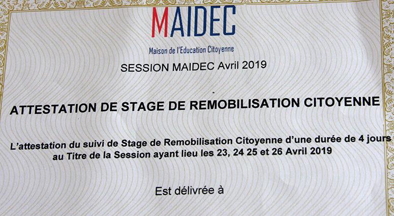 La remobilisation citoyenne avec la MAIDEC (2/2)