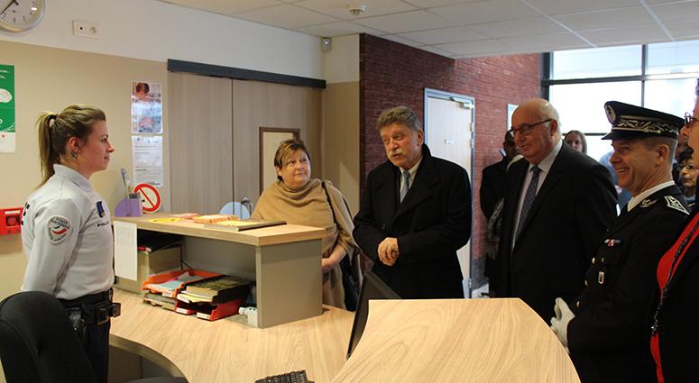 Le nouveau commissariat de police de Saint-Amand-les-Eaux… enfin !