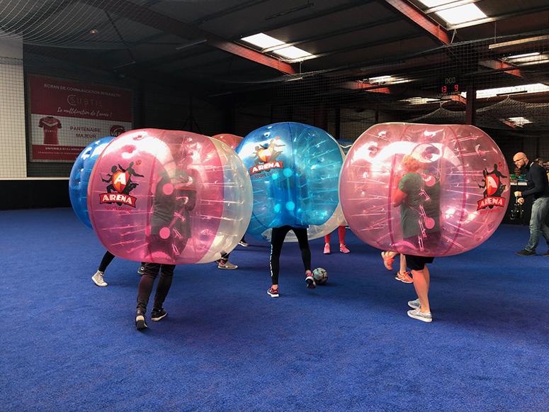 Coupe du Monde de Bubble Football avec les Boutiques de Valenciennes