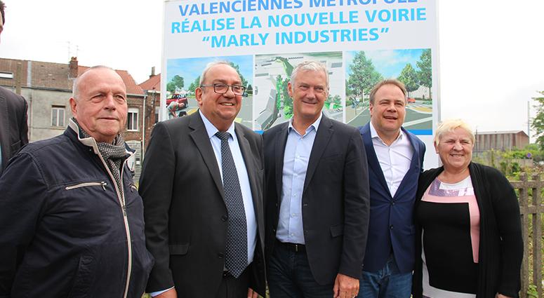 Sur Marly, le futur boulevard urbain est lancé !