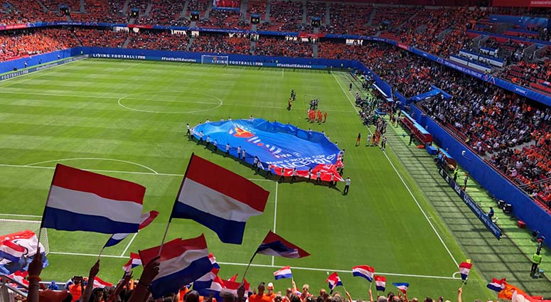 Laurent Suin : «La Coupe du Monde est un événement formidable pour Valenciennes»(message en néerlandais)