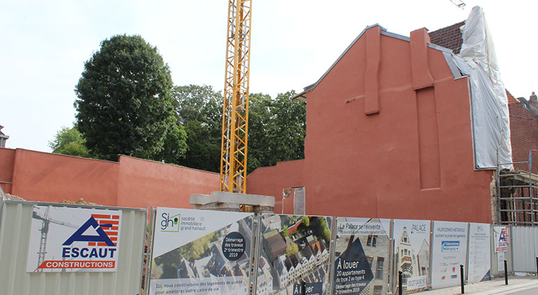 L'ancien cinéma «Palace» à Valenciennes classé aux Monuments historiques