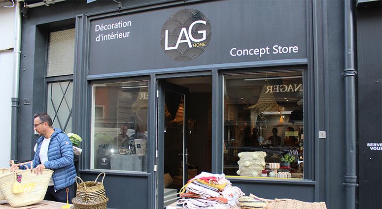 Le LAG, un concept store à Valenciennes